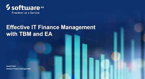 Alfabet Portfolio Playbook: Effective IT Finance Management with TBM and EA
