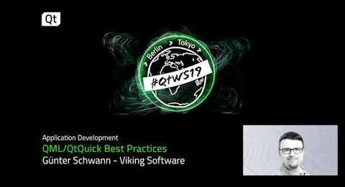 Best Practices for using QML and QtQuick
