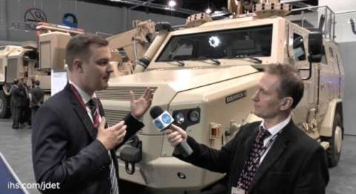 IDEX 2015 Shaun Connors talks to Rheinmetall about their new Survivor R Vehicle