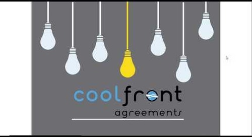 Coolfront Agreements Webinar Walkthrough