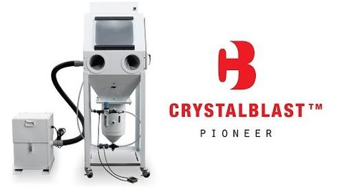 CrystalBlast Pioneer Blast Cabinet - IKONICS Imaging