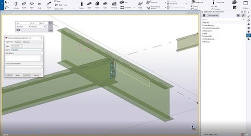 Custom Components in Tekla Structures