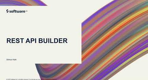 webMethods.io Integration Tutorials - REST API Builder