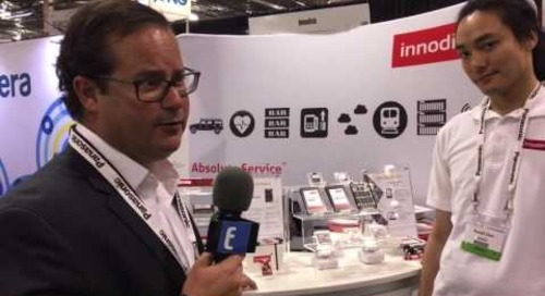 Innodisk booth interview at TU Automotive Detroit 2016