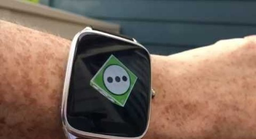 Qt on Android Wear—Qt Cube Demonstration