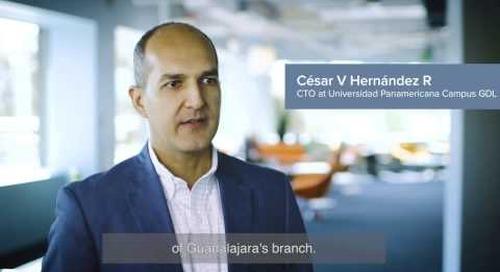 César V Hernández R, Director de TI en Universidad Panamericana habla sobre CloudLock