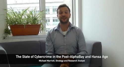 The State of Cybercrime in the Post AlphaBay and Hansa Age