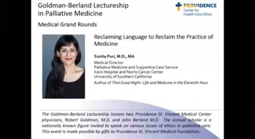 Reclaiming Language to Reclaim the Practice of Medicine