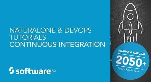 NaturalONE & DevOps Tutorials -Continuous Integration