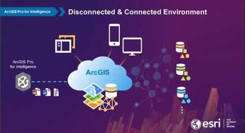 ArcGIS Pro for Intelligence, a workstation for multi source intelligence analysis