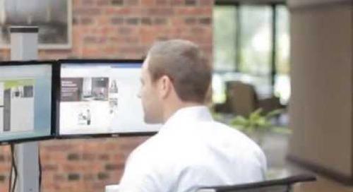 Sit & Standing Adjustable Ergonomic Keyboard & Monitor Stands for Workstation