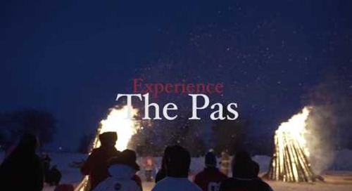 Winter in The Pas