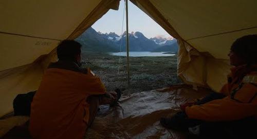 Greenland Adventure: Overnight Camping in Greenland