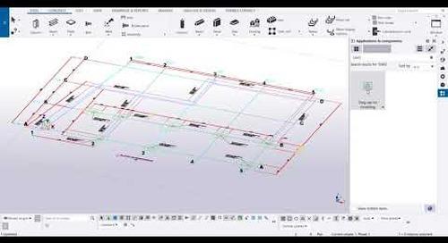 Extrusión de dibujos para modelado en Tekla Structures