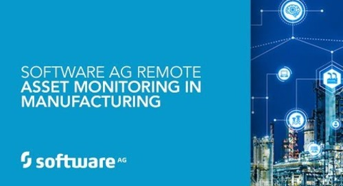 Software AG Remote Asset Monitoring in Manufacturing