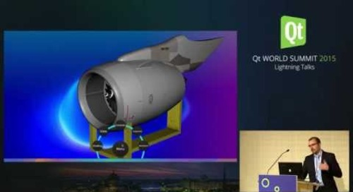 QtWS15- Lightning Talk, Qt 3D CAD demo, Paul Lemire, KDAB