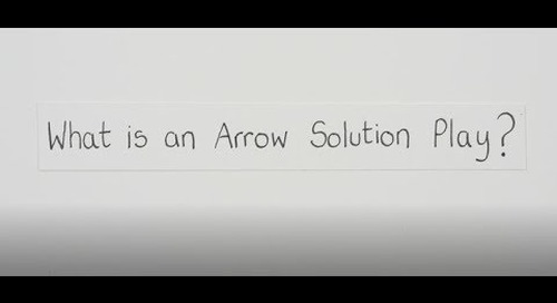 What is an Arrow Solution Play?