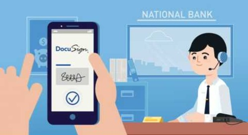 A quick look at DocuSign for Financial Services