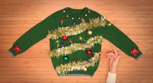 3 DIY Ugly Christmas Sweaters