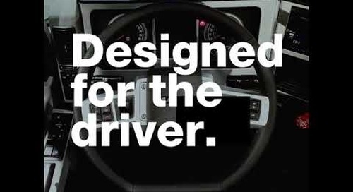 Designed for the driver.
