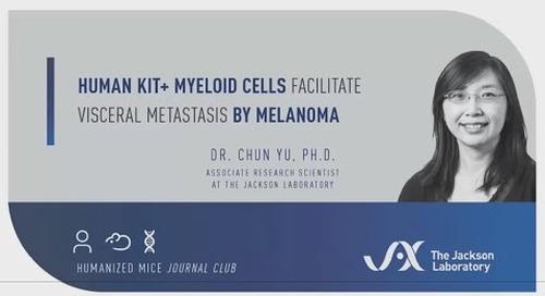 Human KIT+ Myeloid Cells Facilitate Visceral Metastasis By Melanoma