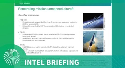 Intel Briefing: Airborne ISR - Towards multimission and increasing automation