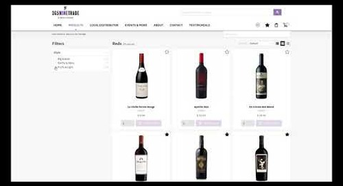 365WineTrade & Ecommerce: Wine & Spirits Solution