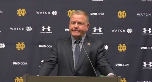 Brian Kelly Boston College-Week Press Conference