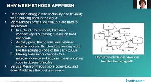 webMethods AppMesh 3-minute introduction