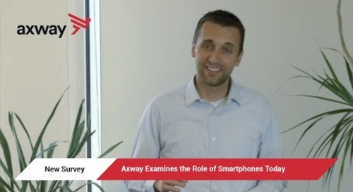 New Survey Results | Axway Examines Role of Smartphones in 2017
