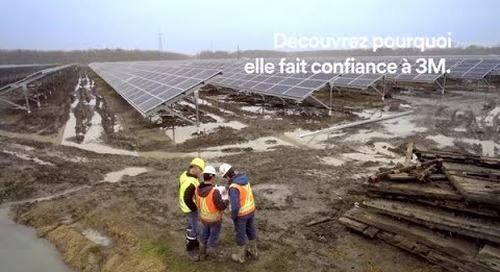 Parcs solaires et éoliens : relation fournisseur-entrepreneur.