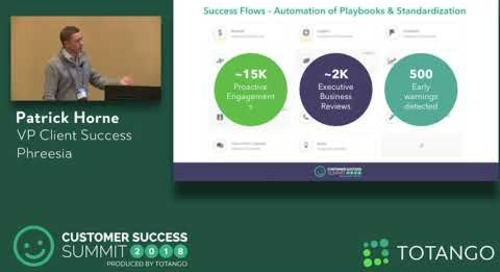 Our Year-In-Review: Scaling To New Heights  - Customer Success Summit 2018 (Track 2)