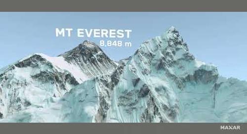 #TiltTheMap: Highest Peaks
