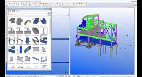 Secondary Steel Framing with Tekla Structures