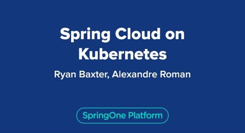 Spring Cloud on Kubernetes
