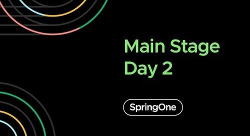 SpringOne 2020 - Day 2 Closing Full Keynote