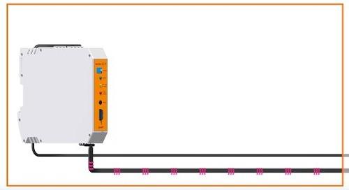 Smart plastics sensors measure push/pull forces in energy chains