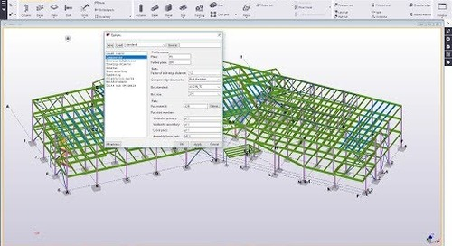 Options Settings in Tekla Structures