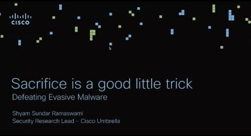 Sacrifice is a good little trick: Defeating Evasive Malware