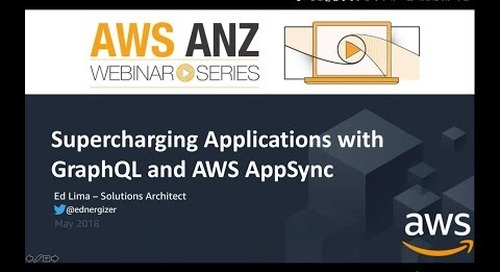 Supercharging applications with GraphQL and AWS AppSync