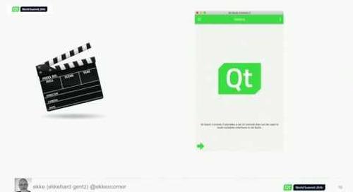 QtWS16- Qt World Summit Conference App: Behind The Scenes, Ekkehard Gentz