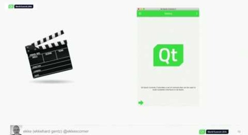 QtWS16- Qt World Summit Conference App: Behind The Scenes, Ekkehard Gentz