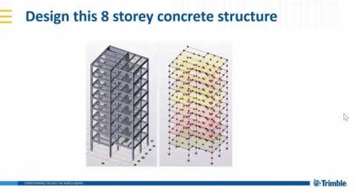 Tekla Structural Designer 2020 - Grillage and FE chase-down analyses