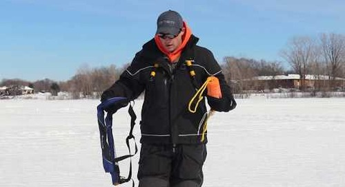 Ice Fishing Late Ice - Safety Tips