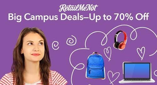 Major in Great Deals With RetailMeNot