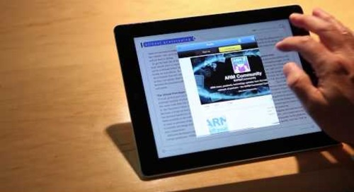 "Signum - ""Immersive"" Native App Magazine Experience!"