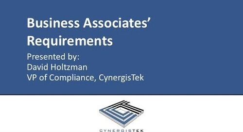 Business Associate Requirements & How to Achieve Regulatory Compliance