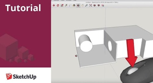 Getting Started with SketchUp - Part 1