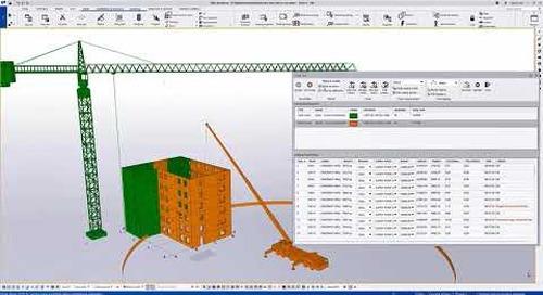 New Crane Tool in Tekla Structures 2021