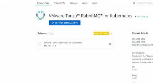 Installing VMware Tanzu™ RabbitMQ® for Kubernetes with Carvel